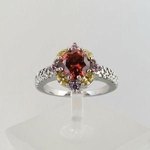 18k Mandala Ring